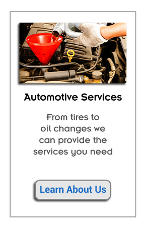 Automotive Services | From tires to oil changes we can provide the services you need